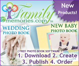 Photobooks, One at a Time -FamilyMemories