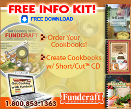 Print Cookbooks For Fundraising -Fundcraft