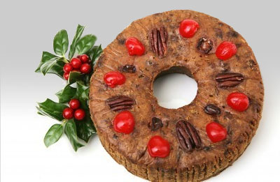 OLD FASHIONED LIGHT FRUIT CAKE