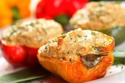BEST-EVER STUFFED PEPPERS
