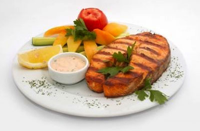 BASIC GRILLED SALMON STEAKS