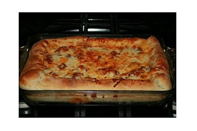 DEEP-DISH PIZZA CASSEROLE