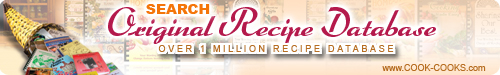 recipes from the Original Recipe Database 1 million Recipes, cookbooks, cookbooks online